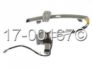 Acura CL Window Regulator with Motor 17-00167 AN