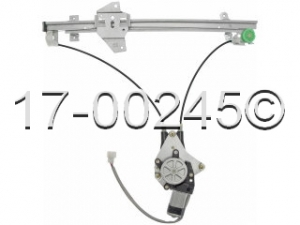 Mitsubishi Galant Window Regulator with Motor 17-00245 AN