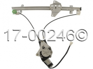 Mitsubishi Galant Window Regulator with Motor 17-00246 AN