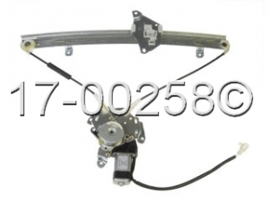 Mitsubishi Mirage Window Regulator with Motor 17-00258 AN