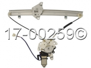 Mitsubishi Mirage Window Regulator with Motor 17-00259 AN