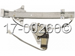 Mitsubishi Mirage Window Regulator with Motor 17-00260 AN