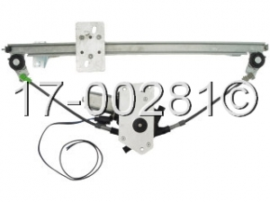 Saab 9000 Window Regulator with Motor 17-00281 AN