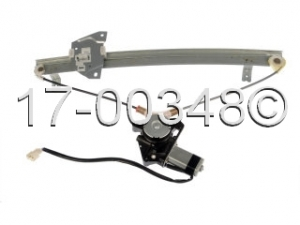 Mitsubishi Galant Window Regulator with Motor 17-00348 AN
