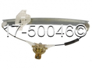 Hyundai Accent Window Regulator Only 17-50046 AN