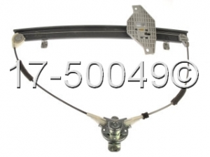 Hyundai Accent Window Regulator Only 17-50049 AN