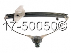 Hyundai Accent Window Regulator Only 17-50050 AN