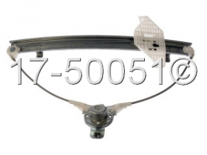 Hyundai Accent Window Regulator Only 17-50051 AN