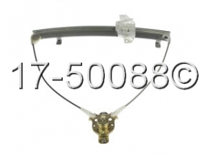 Hyundai Accent Window Regulator Only 17-50088 AN