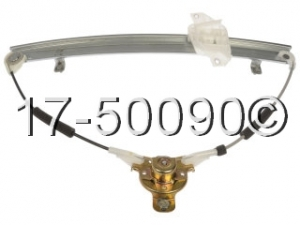 Hyundai Accent Window Regulator Only 17-50090 AN