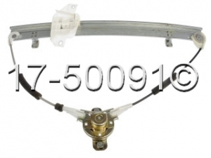 Hyundai Accent Window Regulator Only 17-50091 AN