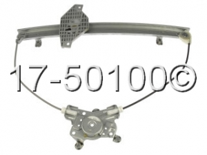 Hyundai Accent Window Regulator Only 17-50100 AN