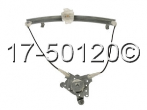 Hyundai Accent Window Regulator Only 17-50120 AN