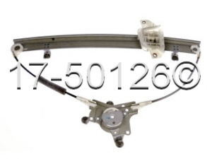Hyundai Accent Window Regulator Only 17-50126 AN