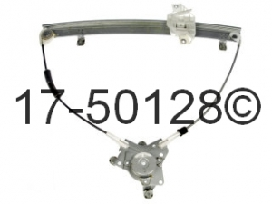 Hyundai Accent Window Regulator Only 17-50128 AN