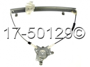Hyundai Accent Window Regulator Only 17-50129 AN