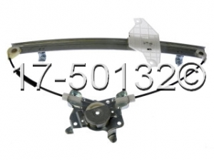 Hyundai Accent Window Regulator Only 17-50132 AN