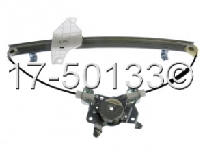 Hyundai Accent Window Regulator Only 17-50133 AN