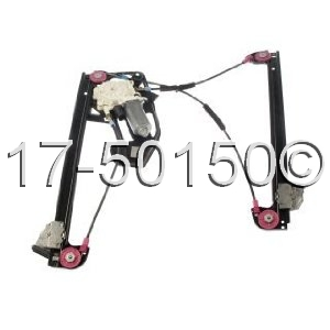 BMW 750iL Window Regulator Only 17-50150 AN