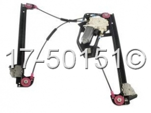 BMW 750iL Window Regulator Only 17-50151 AN