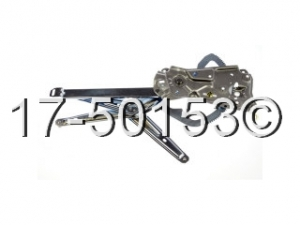 BMW 325 Window Regulator Only 17-50153 AN