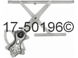 Lexus LX450 Window Regulator Only 17-50196 AN
