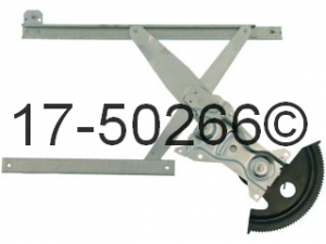 Buick Skylark Window Regulator Only 17-50266 AN