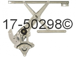 Honda Civic Window Regulator Only 17-50298 AN