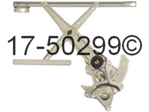 Honda Civic Window Regulator Only 17-50299 AN
