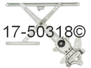 Lexus LX450 Window Regulator Only 17-50318 AN