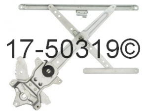 Lexus LX450 Window Regulator Only 17-50319 AN