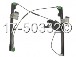 Volkswagen Cabriolet Window Regulator Only 17-50332 AN