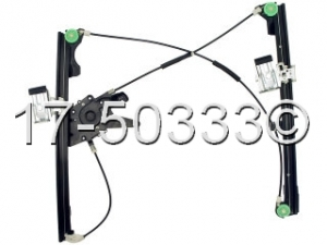 Volkswagen Cabriolet Window Regulator Only 17-50333 AN