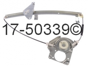 Honda Passport Window Regulator Only 17-50339 AN