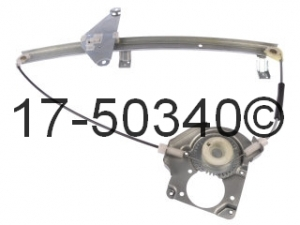 Honda Passport Window Regulator Only 17-50340 AN