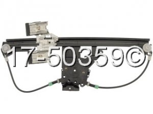 Volkswagen Jetta Window Regulator Only 17-50359 AN