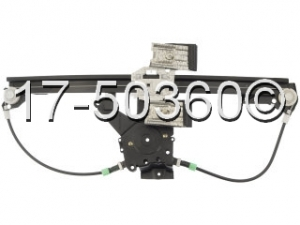 Volkswagen Jetta Window Regulator Only 17-50360 AN
