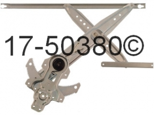 Honda Civic Window Regulator Only 17-50380 AN