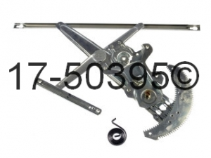 Honda Accord Window Regulator Only 17-50395 AN
