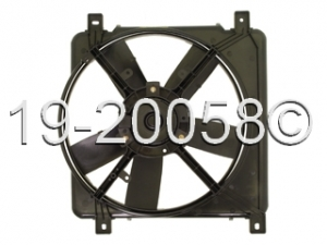 Chevrolet Lumina APV - Minivan Cooling Fan Assembl 19-20058 AN