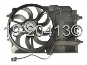 Mini Cooper Cooling Fan Assembly 19-20413 AN