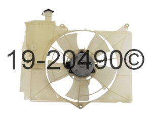 Scion xA Cooling Fan Assembly 19-20490 AN