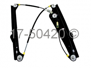 BMW 745 Window Regulator Only 17-50420 AN