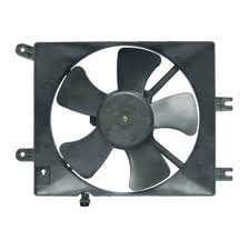 Porsche 911 Cooling Fan Assembly 19-20756 ON